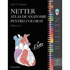 Netter Atlas de Anatomie pentru Colorat
