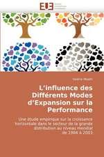 L'influence des Différents Modes d'Expansion sur la Performance