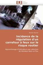 Incidence de La Regulation D'Un Carrefour a Feux Sur Le Risque Routier:  La Douleur Sur Le Ruban de Moebius Du Moi