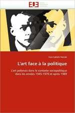 L'art face à la politique