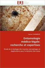 Entomologie médico-légale: recherche et expertises