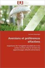 Aversions et préférences olfactives