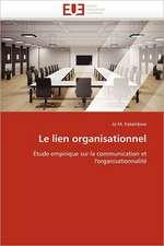 Le Lien Organisationnel:  Un Nouveau Protocole de Securite