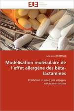 Modélisation moléculaire de l'effet allergène des bêta-lactamines