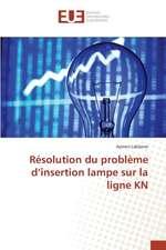 Resolution Du Probleme D'Insertion Lampe Sur La Ligne Kn:  Leon-Gontran Damas Et La Quete D''Une Identite Primordiale