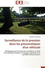 Surveillance de La Pression Dans Les Pneumatiques D'Un Vehicule:  Un Art Politique?