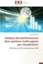 Analyse Des Performances D'Un Systeme Multi-Agents Par Visualisation