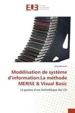 Modelisation de Systeme D'Information