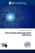 CLOUD DATA MGMT INTERFACE