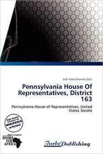 Pennsylvania House Of Representatives, District 163