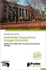 KATHOLIEKE HOGESCHOOL BRUGGE-O