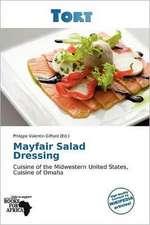 MAYFAIR SALAD DRESSING