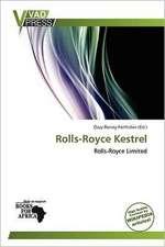ROLLS-ROYCE KESTREL