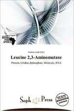 LEUCINE 23-AMINOMUTASE