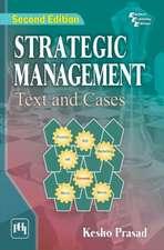Prasad, K:  Strategic Management