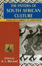 Pattern of South African Culture