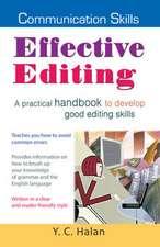 Effective Editing