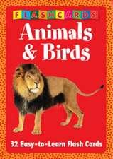 Animals & Birds - Flash Cards