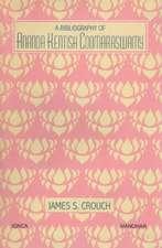 Bibliography of Ananda Kentish Coomaraswamy