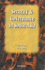 Security and Governance in South-Asia
