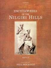 Encyclopaedia of the Nilgiri Hills