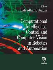 Computational Intelligence, Control and Computer Vision in Robotics and Automation