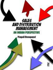 Sales and Distribution Management: An Indian Perspective