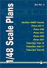 1/48 Scale Plans Set No. 2:  PWS-10, Avia BH-33, PZL P.7a