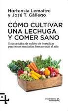 Como Cultivar Una Lechuga y Comer Sano:  Guia Practica del Cultivo de Hortalizas Para Tener Ensaladas Frescas Todo El Ano