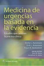 Medicina de urgencias basada en la evidencia: Estudios que cambian la práctica clínica
