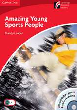 Amazing Young Sports People Level 1 Beginner/Elementary Book with CD-ROM/Audio CD Pack