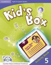 Kid's Box for Spanish Speakers Level 5 Activity Book with CD-ROM and Language Portfolio