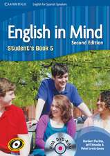 English in Mind for Spanish Speakers Level 5 Student's Book with DVD-ROM