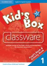 Kid's Box for Spanish Speakers Level 1 Classware CD-ROMs