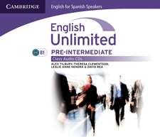 English Unlimited for Spanish Speakers Pre-intermediate Class Audio CDs (3)