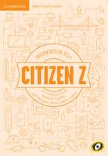 Citizen Z B1+ Workbook with Downloadable Audio