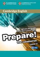 Cambridge English Prepare! Test Generator Level 2 CD-ROM