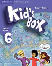 Kid's Box for Spanish Speakers Level 6 Pupil's Book