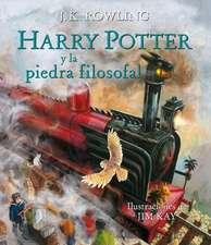 Harry Potter Y La Piedra Filosofal. Edición Ilustrada / Harry Potter and the Sorcerer's Stone: The Illustrated Edition = Harry Potter and the Philosop