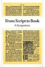 From Script to Book