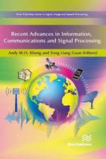 Recent Advances in Information, Communications and Signal Processing