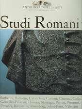 Studi Romani I Antologia Di Belli Arti