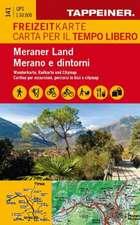 Freizeitkarte und Freizeitführer Meraner Land