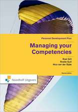 Managing Your Competencies: Personal Development Plan