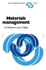 Materials management: A systems approach