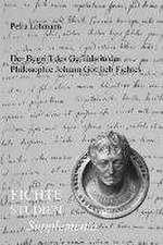 Der Begriff des Gefühls in der Philosophie Johann Gottlieb Fichtes