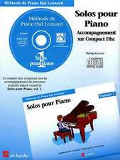 Piano Solos Book 1 - CD - French Edition:  Hal Leonard Student Piano Library