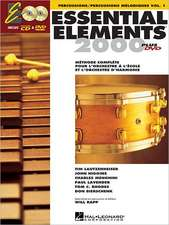 French Essential Elements Ee2000 Percussion