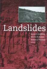 Landslides:  Proceedings of the 9th International Conference and Field Trip, Bristol, 16 September 1999