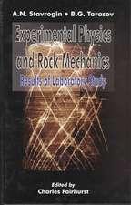 Experimental Physics and Rock Mechanics